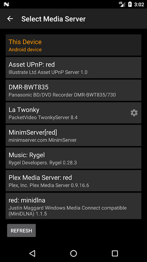 Hi-Fi Cast + DLNA- screenshot