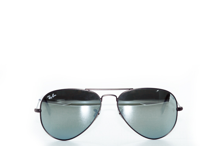 Ray Ban Aviator Flash Gunmetal