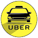 Taxi Uber Black Free guide icon