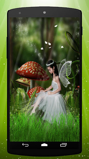 Toadstool Pixie Live Wallpaper
