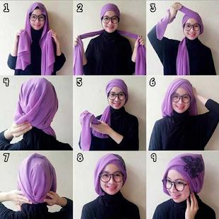 Style Hijab Pashmina 2018 - náhled