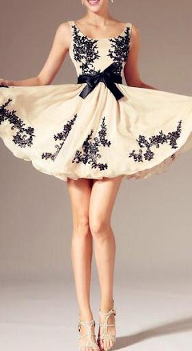 鸡尾酒礼服设计理念