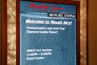 Photo: 2012 Convention Fundraiser & Art Auction at the Mt. Airy Casino in PA