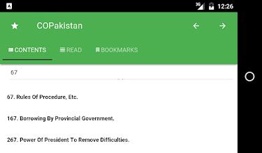 Constitution of Pakistan screenshot thumbnail