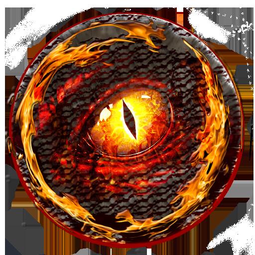 Poweramp Skin Dragon
