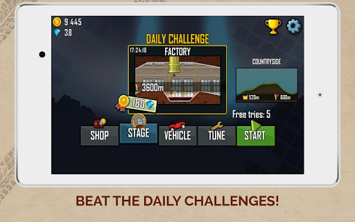 Hill Climb Racing screenshot 15