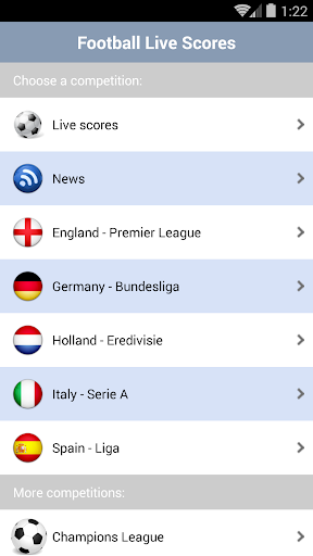 Football Live Scores  1