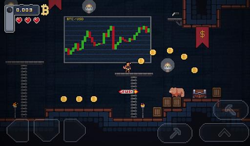 Télécharger BitcoinMiner - Platformer Game apk mod screenshots 3