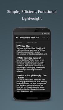 Writer Plus (Write On the Go)