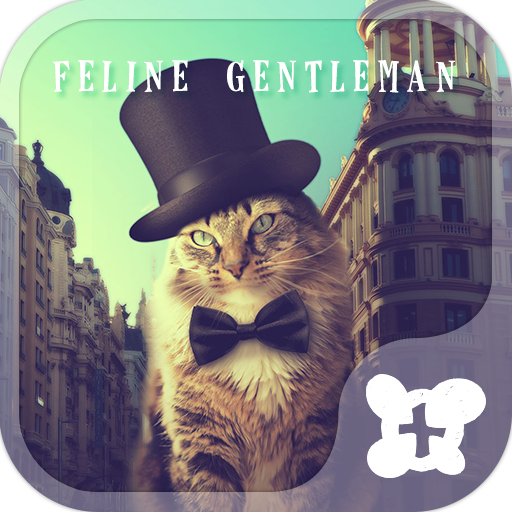 Cat  Theme-Feline Gentleman- Icon