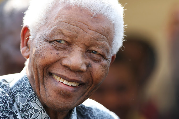 Nelson Mandela. Picture: SUNDAY TIMES