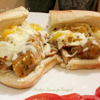Chicken Sausage Hoagie!