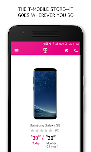 T-Mobile- screenshot thumbnail