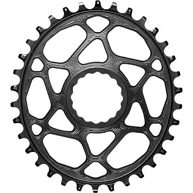 Absolute Black Oval Direct Mount Chainring - CINCH Direct Mount, 3mm Offset, Requires Hyperglide+ Chain