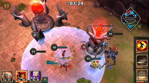 Legendary Heroes MOBA Offline screenshot 4