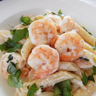 Lemon Basil Shrimp Pasta