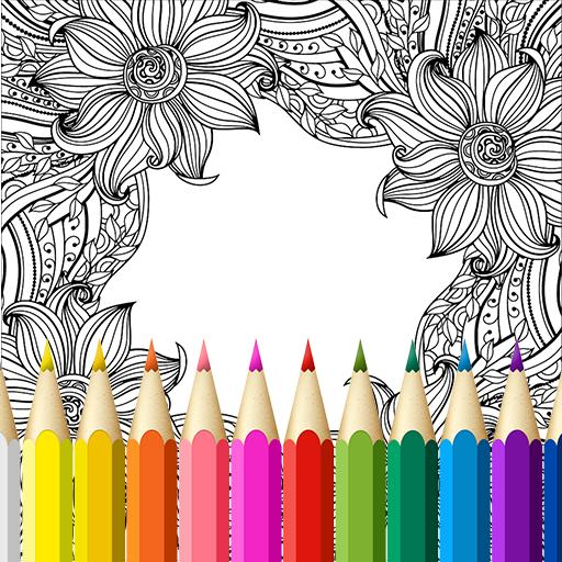 Free Coloring Book For Adults Google Play De Uygulamalar