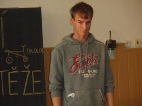 Photo: Školní kolo recitační soutěže - Filip z 3. A.