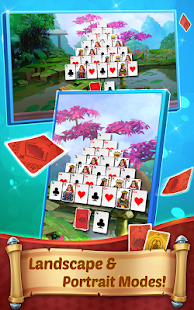 Pyramid Solitaire with Themes - náhled