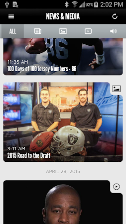Oakland Raiders 1.0.0 screenshot 322312