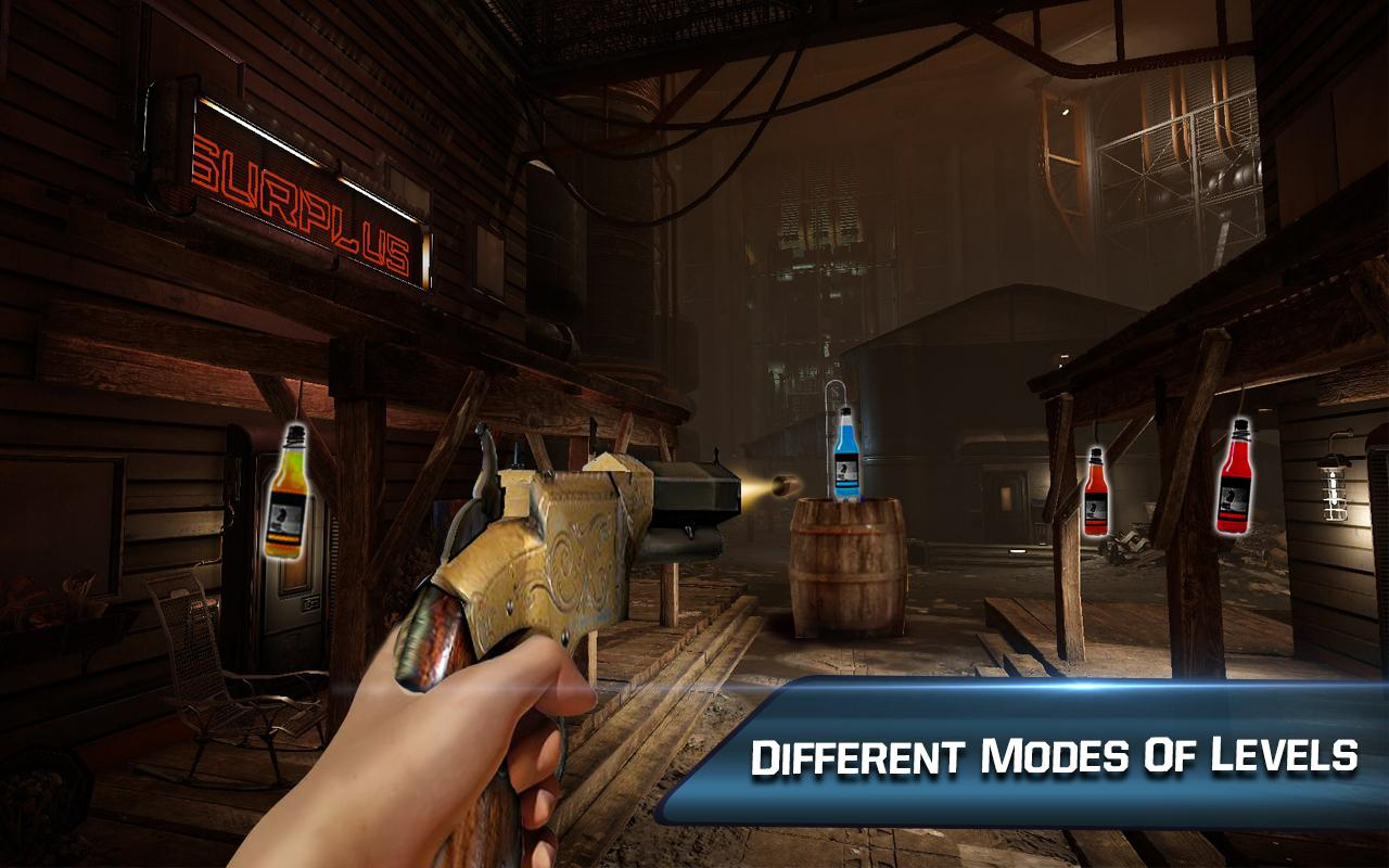 Impossible Bottle Shoot Gun 3D : Expert Mission- screenshot