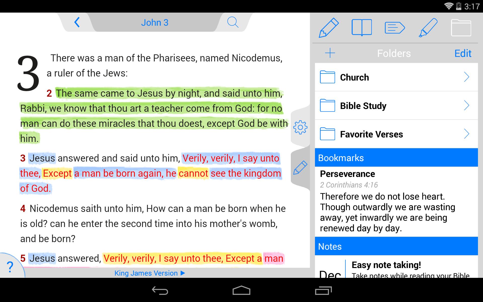 New American Standard Bible screenshot #20