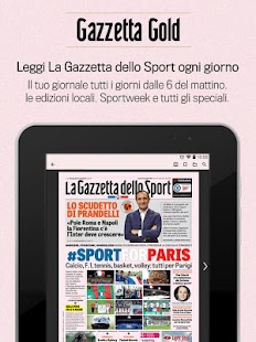Gazzetta Gold- miniatura screenshot