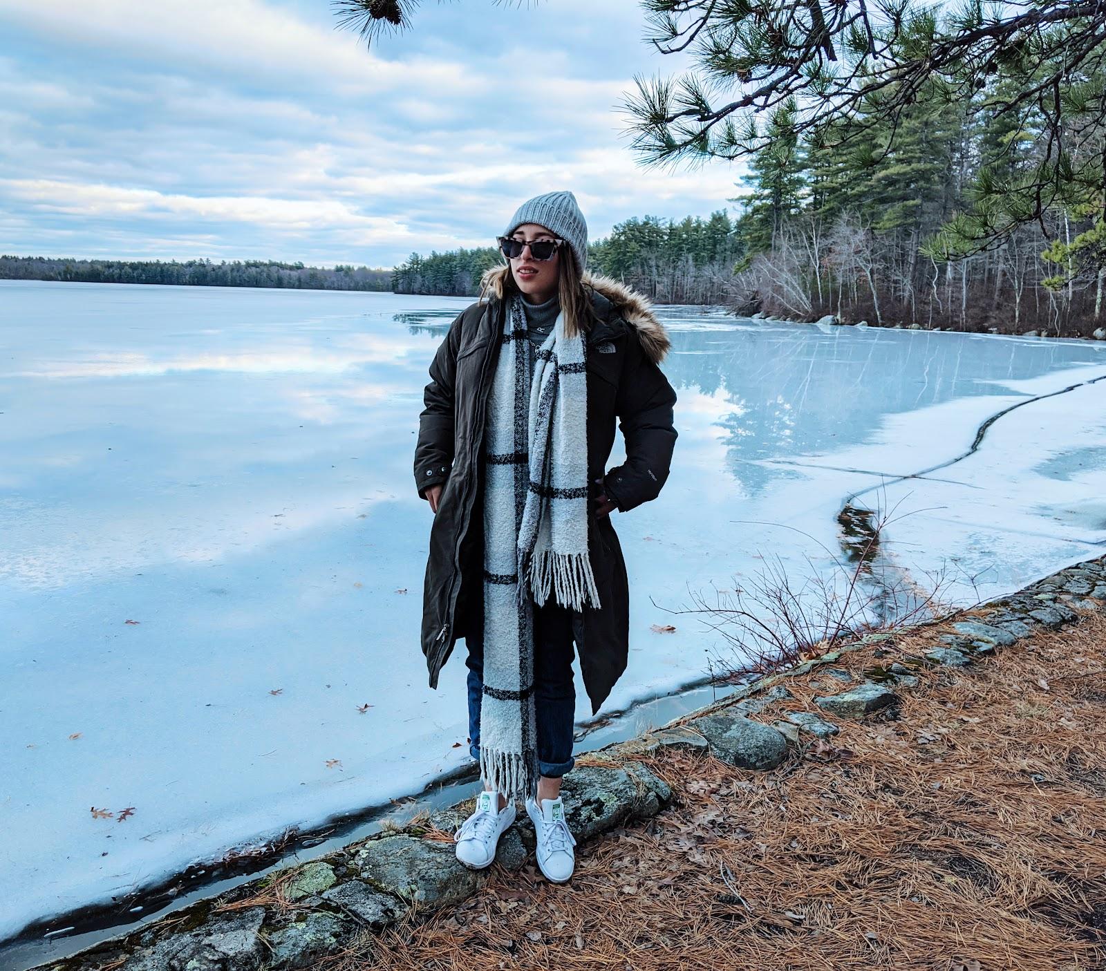 מסלול טיול לתיירים מחוץ לבוסטון ניו המפשייר בחורף