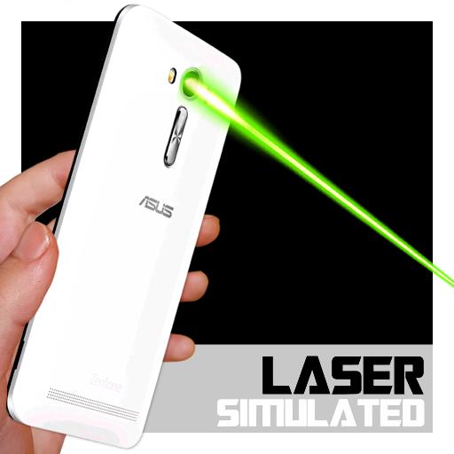 休闲のレーザーポインターをシミュレーション LOGO-HotApp4Game