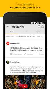 franceinfo - l'actu en direct Capture d'écran