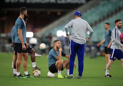Eden Hazard s'ennuyait à Chelsea sous Maurizio Sarri