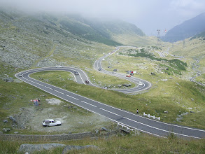Photo: Transfagarasanul
