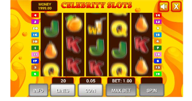 Celebrity Slots- screenshot