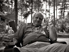 Photo: Dad in the yard