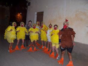 Photo: Las chicas de la Peña 6º Infierno, ganadoras del premio de disfraces 2005