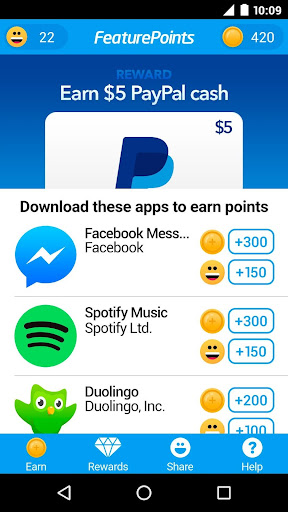 FeaturePoints: Free Gift Cards 8.7 screenshots 1
