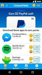 FeaturePoints: Free Gift Cards- screenshot thumbnail