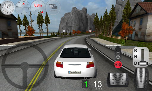 Car Driving Games With Gears And Steering