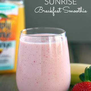Sunrise Breakfast Smoothie Recipe