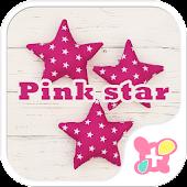 Cute wallpaper-Pink Stars-