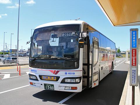 西鉄高速バス「桜島号」 6019 鹿児島空港到着