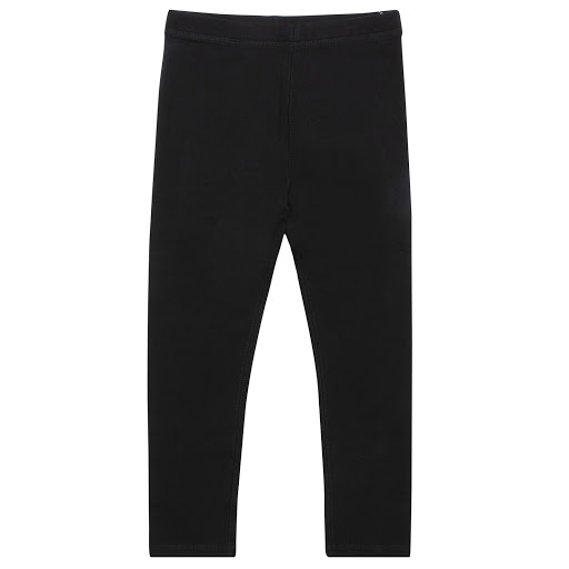 Primary image of Burberry Black Cotton Leggings