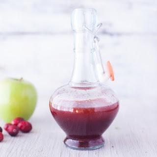 3 Ingredient Cranberry Vinaigrette