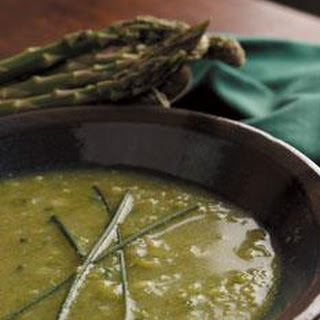 Asparagus Soup with Chives