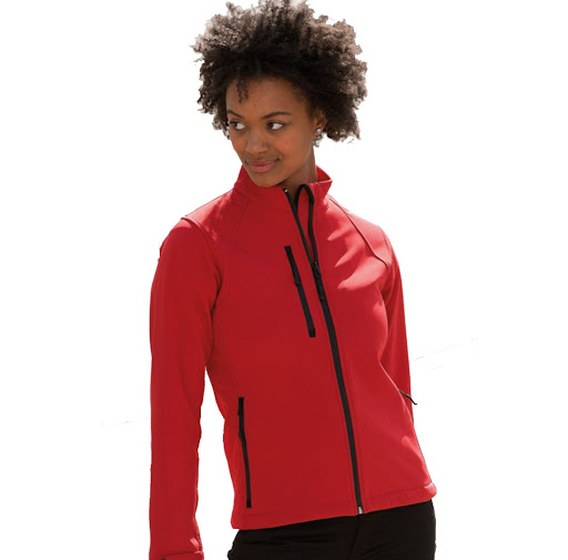 Russell Supersoft Shell Jackets (Ladies)
