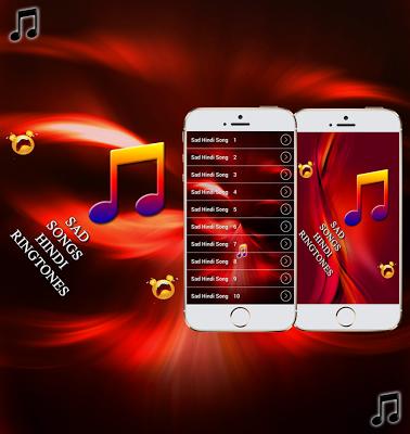 Sad Songs Hindi Ringtones - screenshot