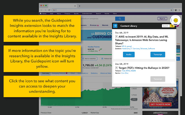 Insights Extension