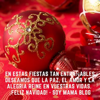 Feliz Navidad te desea Soy Mamá Blog