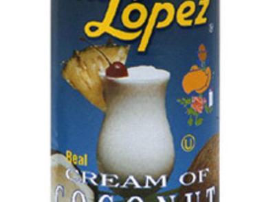 cream of coconut,