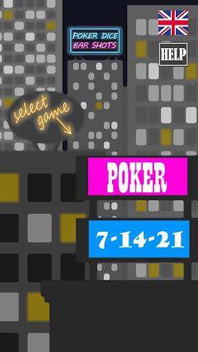 Poker Dice Bar Shots